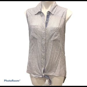 🪀Seven7 Sleeveless loose fit blouse size m…